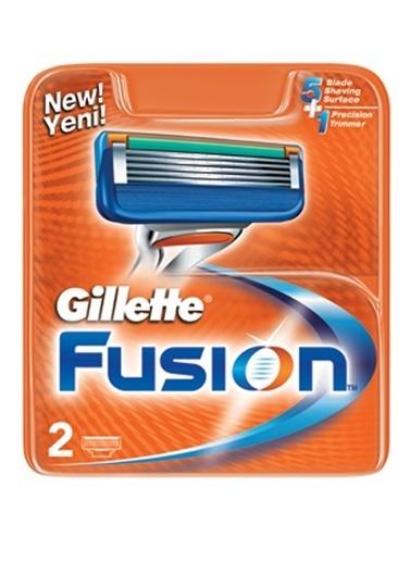 Gillette Fusion Yedek Tıraş Bıçağı 2'li Renkli